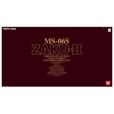 PG MS-06S Zaku II 1/60 (RED)