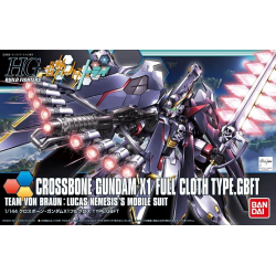 HG BF Crossbone Gundam X1 Full Cloth Ver. GBF