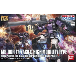 HG Zaku II Black Tri-Star High Mobility Type