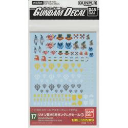 Gundam Decal 17 - Principality of Zeon