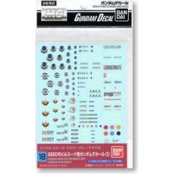 Gundam Decal 18 - Gundam Seed Series