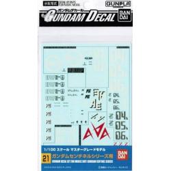 Gundam Decal 21 - Gundam Sentinel Series