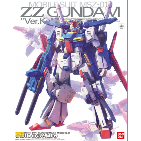 MG ZZ Gundam Ver.Ka