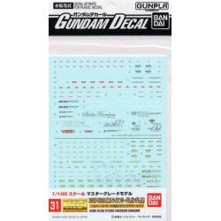 Gundam Decal 31 - ZGMF-X20A Strike Freedom Gundam
