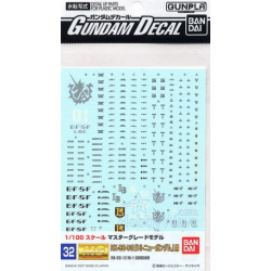 Gundam Decal 32 - RX-93-V2 Hi Nu Gundam