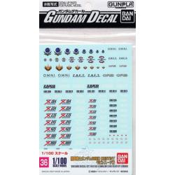 Gundam Decal 36 - Gundam Seed Destiny Series