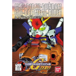 GG012 MSZ-010 ZZ Gundam & Mega Rider