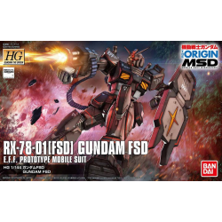 HG (The Origin) Gundam FSD (0XX)