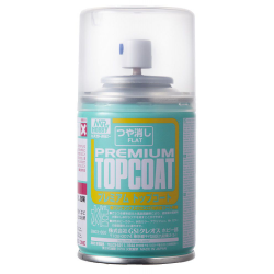 Mr. Hobby TOP COAT (Flat)