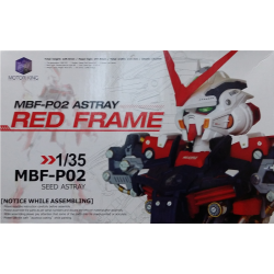 Gundam Astray Red MBF-P02 Head Model Kit
