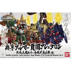 BB410 DianWei Asshimar , JiaXu Ashtaron, Siege Weapon & Six Combining Weapons Set A
