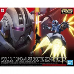 RG ZEONG WITH EFFECT SET *PREORDER* (COMING SOON)