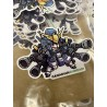 Gundam Sticker (002) HeavyArms