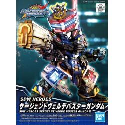 SDW HEROES Sergeant Verde Buster Gundam (03)
