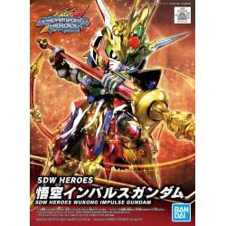SDW HEROES Goku Impulse Gundam (01)
