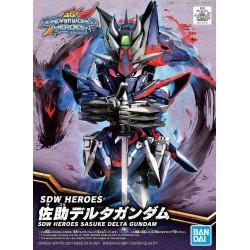 SDW HEROES Sasuke Delta Gundam (00)