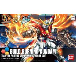 HG BF Build Burning Gundam