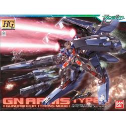 HG GN ARMS TYPE + Gundam Exia (Trans Mode)