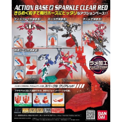 Action Base 2 - Sparkle Clear Red
