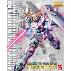 MG Rx-0 Unicorn Titanium Finish