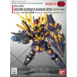SD BB EX-Stardard Unicorn Gundam 02 Banshee Norn (Destroy Mode) (015)