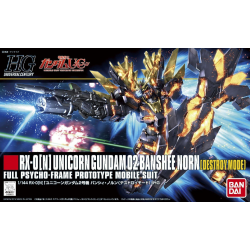 HG UC RX-0 Unicorn Gundam 02 Banshee Norn (Destroy Mode) (175)
