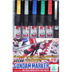 Gundam Marker Set - Gundam Metallic Marker Set