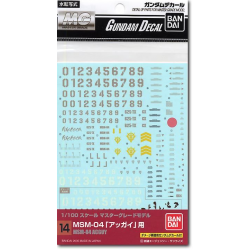 Gundam Decal 14 - MG Acguy Decal