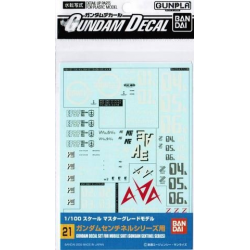 Gundam Decal 21 - Gundam Sentinel Series