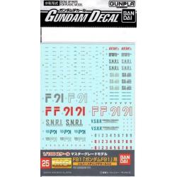 Gundam Decal 25 - F91 Gundam F91
