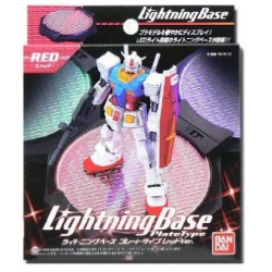Action Base Lightning Base Plate Type (Red)