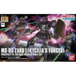 HG (The Origin) Zaku I (Kycilia's Forces) (18)