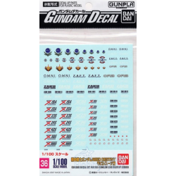 Gundam Decal 36 - Gundam Seed Destiny Series