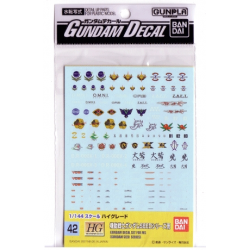 Gundam Decal 42 - Gundam Seed Series