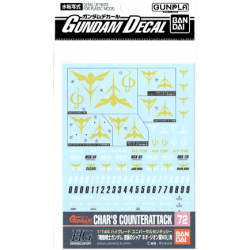 Gundam Decal 72 - 1/144 Char's Counter Attack ZEON Ver