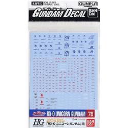 Gundam Decal 76 - Unicorn Gundam