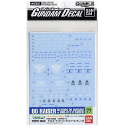 Gundam Decal 77 - PG OO Raiser A