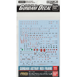 Gundam Decal 111 - RG 1/144 Gundam Astray Red Frame