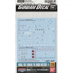Gundam Decal 113 - Mobile Suit Gundam The Origin Multiuse 2