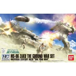 HG UC Zaku Ground Attack Set