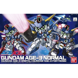 BB372 Gundam Age-3 (Normal/Fortress/Orbital)
