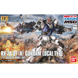 HG Origin Local Type Gundam Local Type (010)