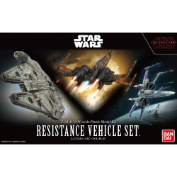 1/144 & 1/350 Resistance Vehicle Set