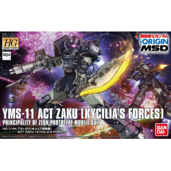 HG (The Origin) Act Zaku (Kycilia's Forces) (00)