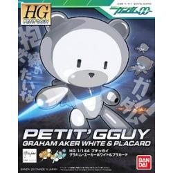 HG PG Petit'gguy Graham Aker White & Placard