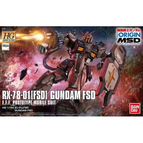 HG (The Origin) Gundam FSD (0XX)