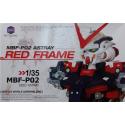 Gundam Astray Red MBF-P02 Head Model Kit