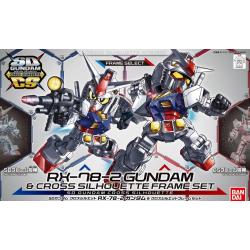 SD CS - RX-78-2 Gundam & Frame Set (00)