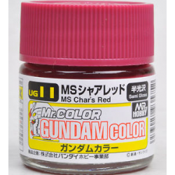 G Color - MS Char Red (Char Custom) - (UG11)