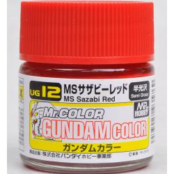 G Color - MS Sazabi Red (Char Custom) - (UG12)